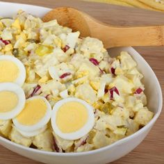 Quick and easy Potato salad in the Pressure cooker - Home Pressure Cooking Homestyle Potatoes, Gluten Free Recipes, Healthy Recipes, Creamy Potato Salad, How To Make Potatoes, Crunch, Cauliflower Salad, Hungarian Recipes, How To Make Salad