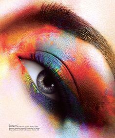 Maquiagem Artística #19 | Artistic Make up, amazing eyes!