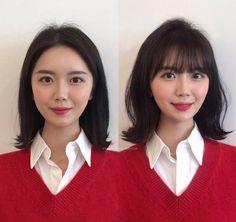 Korean Short Hair, Trendy Hairstyles, Short Hair Styles, Bob Styles, Latest Hairstyles, Short Hair Cuts, Short Hairstyles, Trendy Haircuts, Short Hair Dos