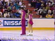 Gordeeva & Grinkov (RUS) - 1991 World Challenge of Champions, Pairs' Event - YouTube