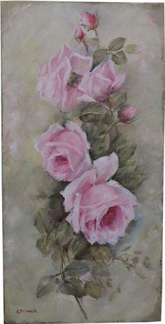 Vintage Roses-Pink