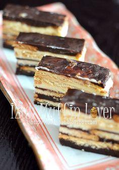 Kek Batik Coklat Cheese Pesona