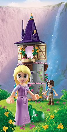 Really cute Rapunzel Lego set. They also have Ariel, Merida, and Cinderella.