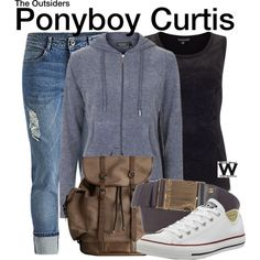 Inspired by C. Thomas Howell as Ponyboy Curtis in 1983's The Outsiders.