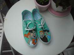 customize diy handmade shoes flinstones you can order from www.instagram.com... hepgiyim@gmail.com www.hep-giyim.com whatsapp +90 536 709 96 64