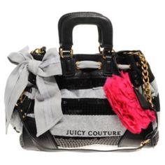 Juicy couture grey&black sequin daydreamer Juicy couture Grey and Black sequin daydreamer .. With strap it doesn't come off .. Very loved and needs a good cleaning .. But there's no stains .. Just a dry cleaner wash Juicy Couture Bags Shoulder Bags