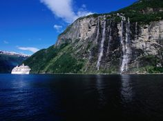 The Seven Sisters Waterfall, Norway -
