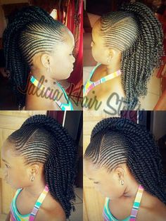 Braids for kids is one of the most simple yet effective hairstyles you can administer for African American children. See more about braids for kids. Little Girl Braids, Black Girl Braids, Braids For Kids, Girls Braids, Kid Braids, Tree Braids, Black Kids Braids Hairstyles, Braids Hairstyles Pictures, Little Girl Hairstyles