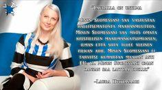 Upea itsenäinen ajattelija ja Suomalainen nainen varustettuna hyvällä itsetunnolla