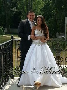 wedding dress by Milano Mirelli