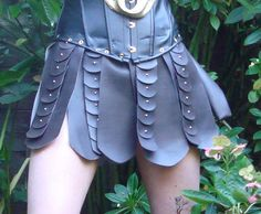 working on a few xena-style skirts as well... comfort, style and intimidation!