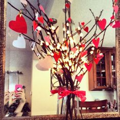 Simple Valentines Day Decorating