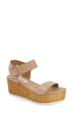 Steve Madden Nylee Platform Sandal via Nordstrom Sock Shoes, Cute Shoes, Me Too Shoes, Steve Madden Platform Sandals, Platform Shoes, Steve Madden Wedges, Madden Shoes, Crazy Shoes, New Shoes