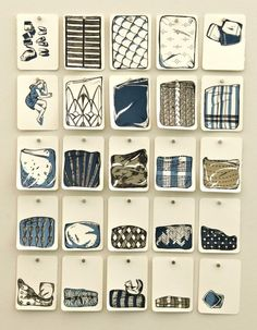 Sheets of Paper  25 silkscreen prints boxed by estasketch on Etsy, $1200.00