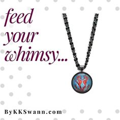 RE-PIN: Feeding your whimsy is about keeping life magical feeling inspired and enjoying yourself! How do you #feedyourwhimsy?  Shop bykkswann.com/shop to feed your whimsy with a #FantasyArtPendant!  ### #FantasyArtPendants #ByKKSwann feat. @drakeyart #DrakeyArt #feedyourwhimsy #nancianneart #fantasy #magical #inspired #enjoyyourself #whimsical #seahorse #underthesea #coralreef #coral #seahorsekiss #wearableart #travelingart #travellingart bykkswann.com
