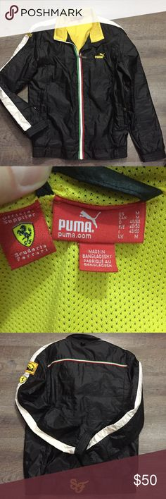 Men's Puma jacket Heavy weight windbreaker. Very good quality. Puma Brand. Barely used. Excellent condition. Puma Jackets & Coats Windbreakers