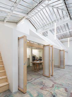 WY-TO builds workshop within workshop inside parisian artist studio