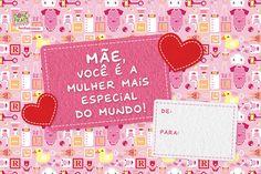 Cartão de Dia das Mães para imprimir