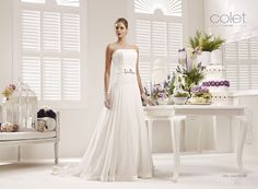Collezione abiti da sposa #Colet 2013, abito da #sposa COAB13451IV