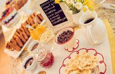 belgian waffle bar wedding