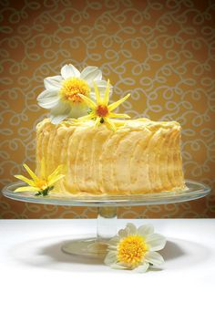 Luscious Layer Cakes: The Lemon Cheese Layer Cake