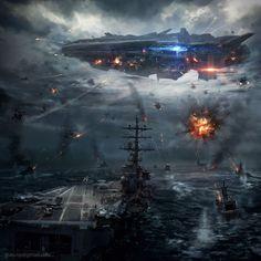 War Concept Art