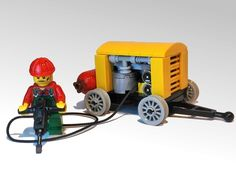 LEGO Ideas - Jackhammer and compressor