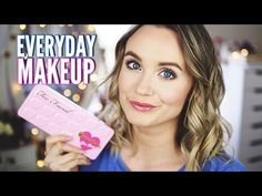 Current Everyday Makeup    Too Faced Bon Bons Palette - YouTube