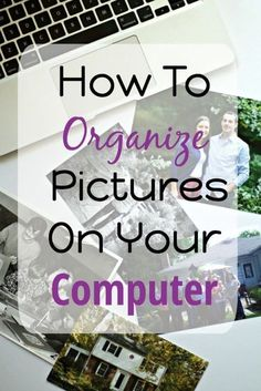 How To Organize Pictures On Your Computer - The Organized Mama - Photos - Tips for where to start when it comes to how to organize pictures on your computer. Steps are broke - Cool Diy, Picture Storage, Der Computer, Computer Tips, Computer Help, Kids Computer, Computer Photo, Computer Repair, Computer Programming