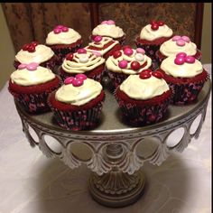 My first red velvet cupcakes :)