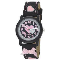 Esprit horloge kids Petite romance black ES000CD4043 | Met GRATIS leuke attentie | http://www.kish.nl/Petite-romance-black-Esprit-horloge/ | €45,00