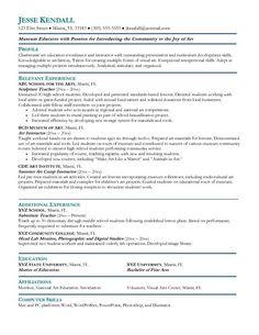 preschool teacher resume samples free httpwwwresumecareerinfo - Sample Teaching Resumes