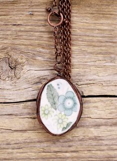 Hey, I found this really awesome Etsy listing at https://www.etsy.com/ru/listing/201853525/vintage-porcelain-necklace-tiffany