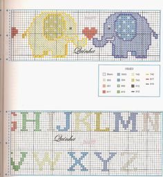 Χειροτεχνήματα: Σχέδια για κεντητές σαλιάρες / Cross stitch baby bib patterns