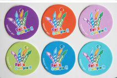 Mini tarjetas Feliz cumple Paquete 10 pzas por Tianguisonline