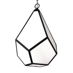Diamond Black Four-Light Pendant