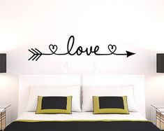Infinity Symbol Bedroom Wall Decal Forever Bedroom by NewYorkVinyl