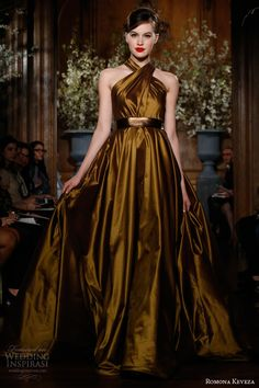 Romona Keveza Fall 2013 Ready-to-Wear Collection | Wedding Inspirasi