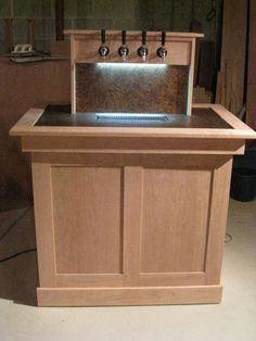 My goal. When my keezer looks like this, I get to have it in the living room!
