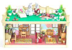*fistuff* Sylvanian Families Decorated Vintage Manor House/Music Room Set + LOTS    eBay
