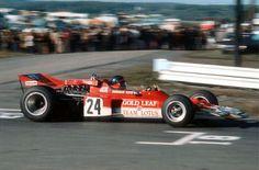 Emerson Fittipaldi won his first GP at Watkins Glen in 1970, Lotus 72