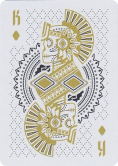 Muertos is an original set of American playing cards designed by Steve Minty and produced by the United States Playing Card Co. It is independently crafted and honors the holiday that celebrates life