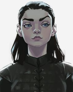Arya Stark : Game of Thrones Art Game Of Thrones, Dessin Game Of Thrones, Art Sketches, Art Drawings, Drawn Art, Art Station, Character Design Inspiration, Art Reference, Design Reference