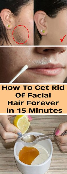 How To Get Rid Of Facial Hair Forever In 15 Minutes - healthy snacks
