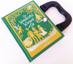 Wonderful Wizard of Oz Book Purse or Book Clutch by NovelCreations, $40.00