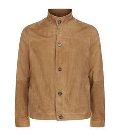 MICHAEL KORS Suede Harrington Jacket. #michaelkors #cloth #