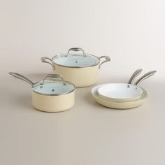 One of my favorite discoveries at WorldMarket.com: Eco Ceramic Cookware Collection