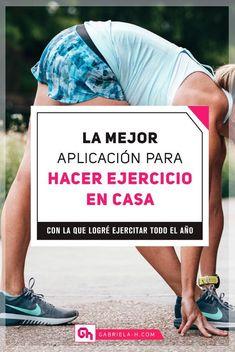 ¿Quieres hacer ejercicio en casa y no sabes cómo empezar? En este post te cuento cuál es la mejor aplicación para hacer ejercicio en casa que podrás usar todos los días, sin excusas #gabrielah #habitos #productividad #ejercicio #aplicaciones #gimnasia