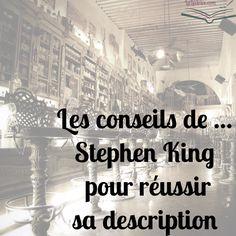 bonne description King image Writing Fantasy, Writing A Book, Writing Prompts, Finance Jobs, Writer Tips, Budgeting Finances, Smash Book, Screenwriting, Digital Marketing