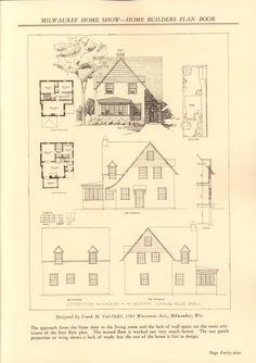 23 best pre war homes images floor plans small homes small houses rh pinterest com 1930s House Interiors 1930 Cars